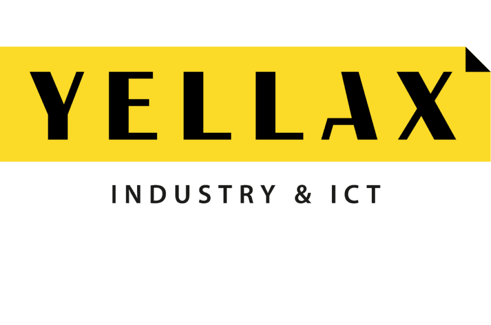 logo industry ict yellax vierkant